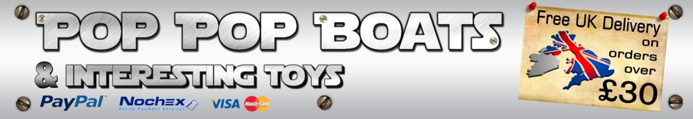 Pop Pop Boats, site logo.