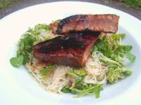 Seared Tuna with Watercress and Coriander Noodles 3