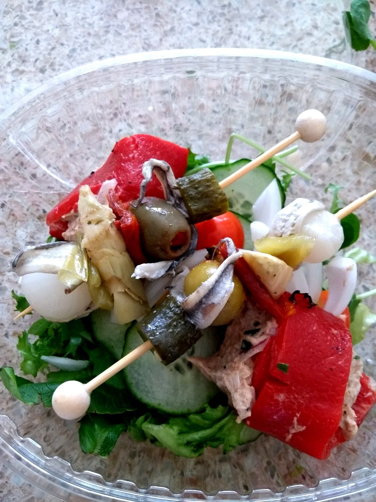 tapas - salad