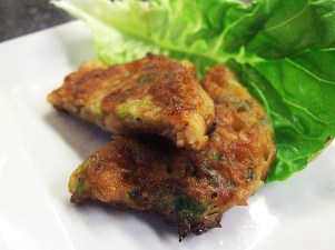 Shrimp and Spring Onion Fritters