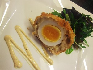 smoked haddock scotch duck egg