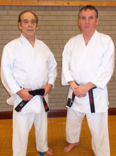 dan redmond chief coach with club coach keith millar