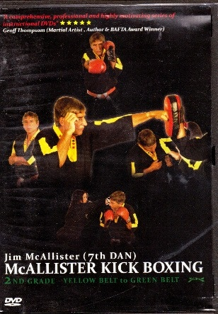 DVD-mcallisterkickboxing2ndgradeyellowtogreen