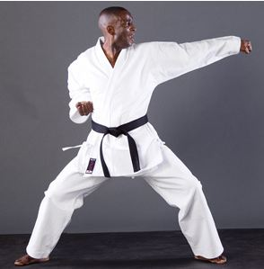 Adult White Japan Karate Suit - SIZE 6 Height 190cm / 6