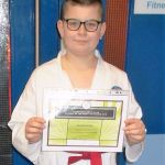 Student of the month - november2015 - filip posodo coleraine karate club