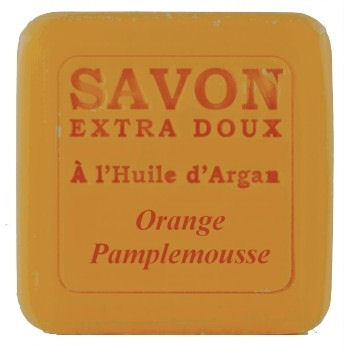 <!--036-->  Argan oil Soap with Orange & Grapefruit 100g