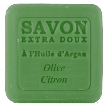 <!--036-->  Argan oil Soap with Olive & Lemon 100g