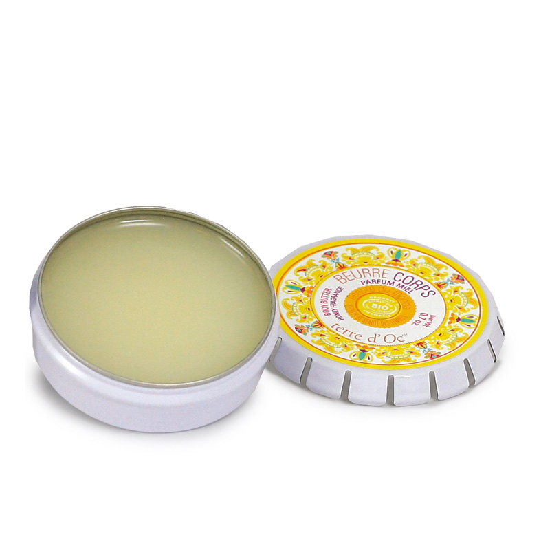 <!--155-->Honey Body Butter 20g Terre d'Oc ARGAN