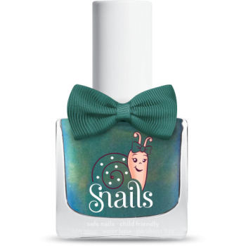 Aurora - GREEN Snails  Nails Washable Polish