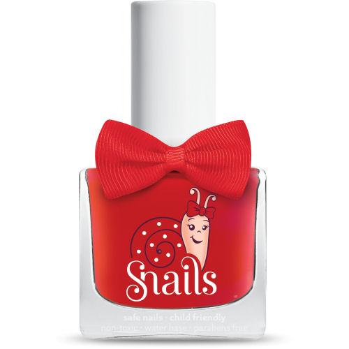 <!-- 008 -->Ladybird - RED Snails  Nails Washable Polish