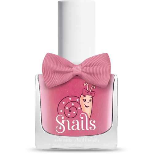 <!-- 012 -->Pinky Pink - PINK  Snails  Nails Washable Polish *NEW COLOUR*