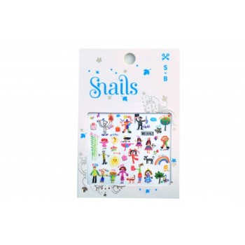 Stickers for Nails - Baby Art