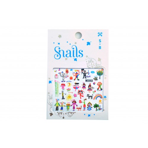 <!-- 103 -->Stickers for Nails - Baby Art