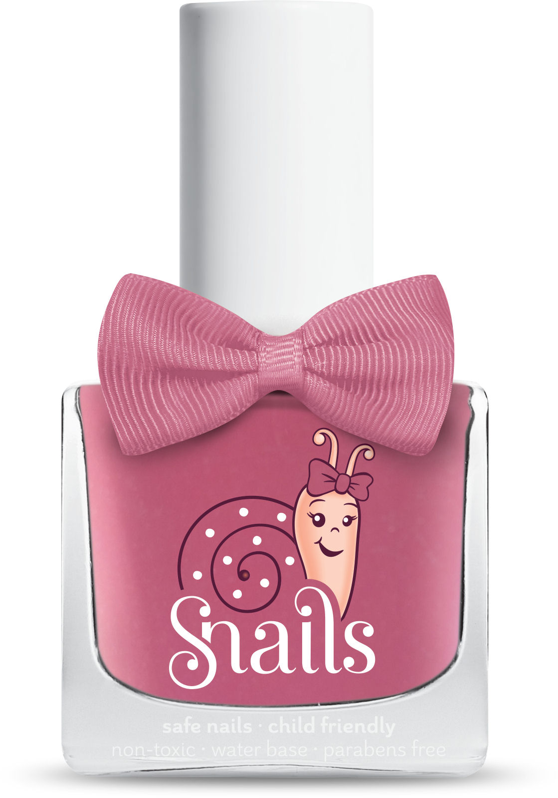 <!-- 012 -->Pink Bang - PINK  Snails  Nails Washable Polish *NEW COLOUR*