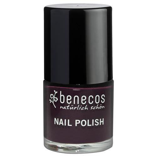 Nail Polish - Benecos Happy Nails - DESIRE plum colour