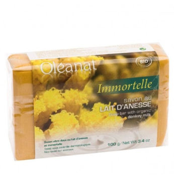 Donkey Milk Soap with Immortelle 100g - Oleanat