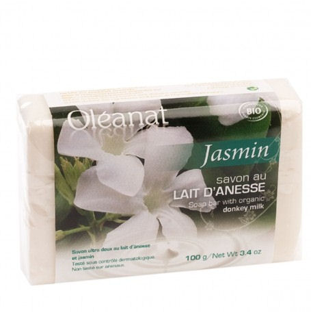 Donkey Milk Soap with Jasmin  100g - Oleanat