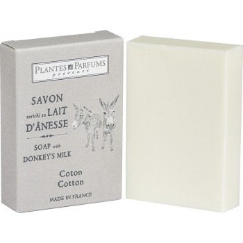 Donkey Milk Soap 100g - Cotton (Rosemary & almond oil)