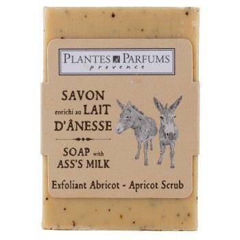 Donkey Milk Apricot Scrub Soap 100g