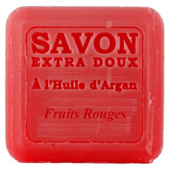 Soap with argan oil - red berries