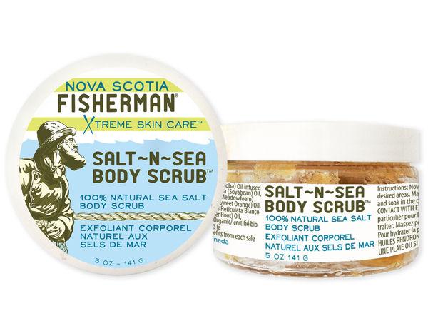 Body Scrub Salt - N - Sea - Nova Scotia Fisherman