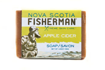 Nova Scotia Fisherman Apple Cider Soap - 136g