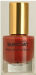 Suncoat water based natural Nail Polish Sienna