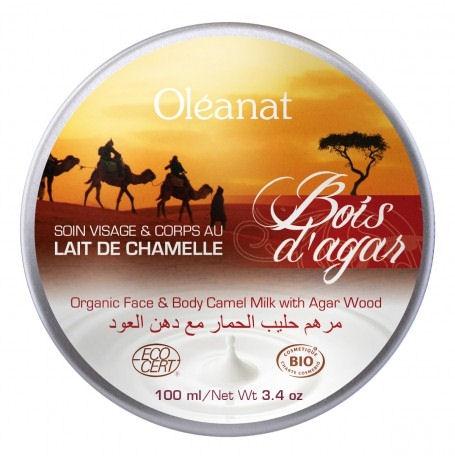 Face & Body care with organic camel milk & agarwood 100ml