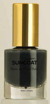 Suncoat water based natural Nail Chic Black