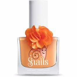 <!-- 005 -->DAISY - Fleur Collection Snails Orange Nails Washable Polish