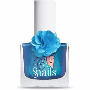 LILY- BLUE Fleur Collection Snails Washable Polish
