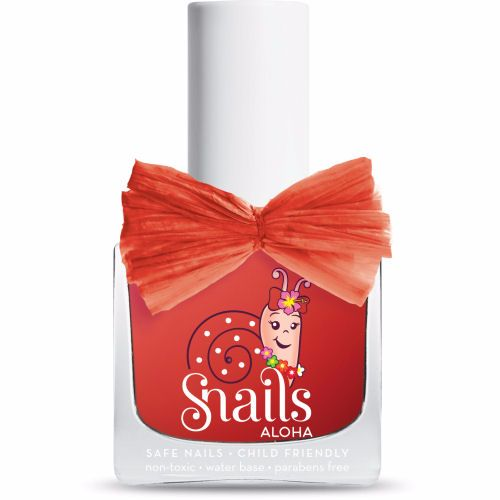 <!-- 008 -->LAVA -Aloha Collection Snails  Nails Washable Polish