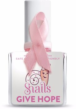 HOPE - Pink Snails  Nails Washable Polish