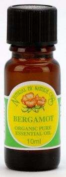 Bergamot ORGANIC  - Essential Oil 10ml