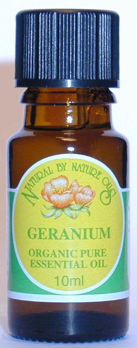 Geranium ORGANIC - Essential Oil 10ml