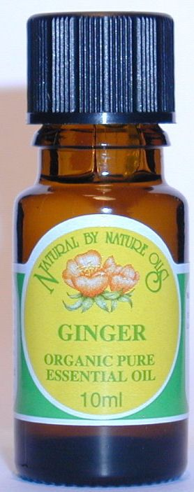 Ginger ORGANIC - Essential Oil 10ml