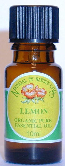 Lemon - ORGANIC Essential Oil 10ml