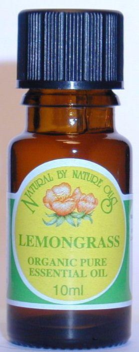 Lemongrass - ORGANIC Essential Oil 10ml