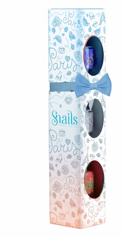 <!-- 020 -->Snails Nails Gift Box - 3 mini collection - PARIS