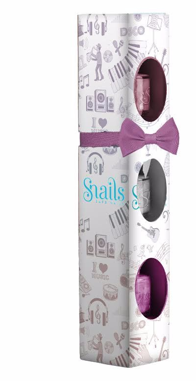 <!-- 020 -->Snails Nails Gift Box - 3 mini collection - MUSIC
