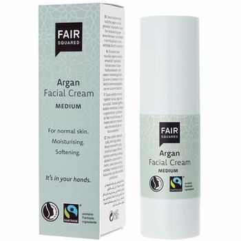 Facial Cream - Medium Argan - 30ml Fair Squared