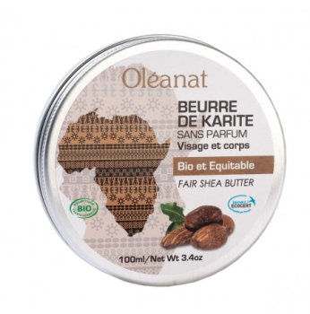 Shea butter balm - fragrance free - Fair Trade 100ml
