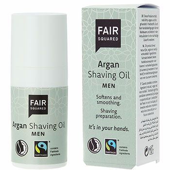 Shaving Oil for men with Argan - Fair Squared