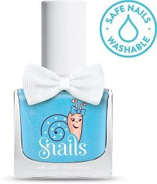 <!-- 001 -->Baby Cloud - Blue Snails  Nails Washable Polish
