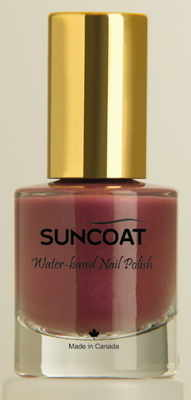 Suncoat water based natural Nail Purple Haze