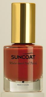Suncoat water based natural Nail Tangerine
