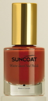 Suncoat water based natural Nail Tangerine