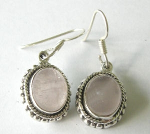 Moonstone fancy silver earrings Pinky  M21