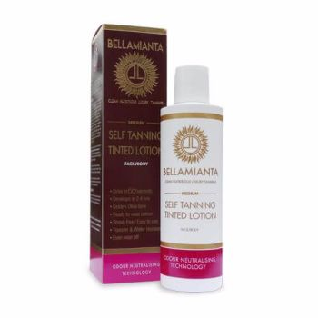 Tanning Lotion Medium - Bellamianta