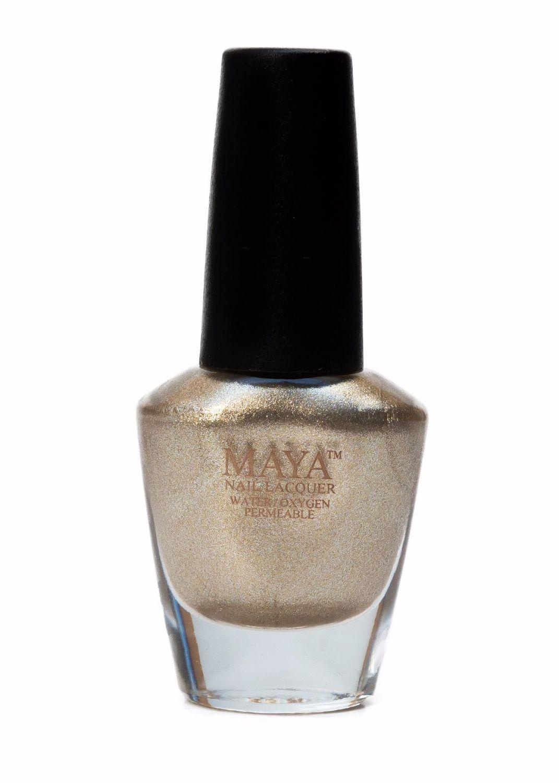 Maya Breathable Nail Polish - Gold Digger
